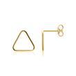 Ohrstecker Dreiecke für Damen aus 9K Gold