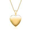 Kette Herz Medaillon aus 585er Gold gravierbar