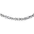 Herren Königskette aus Sterlingsilber, 2,0 mm