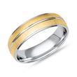 925er Silberring von Vivo teilvergoldet
