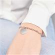 925er Sterling Silber Bettelarmband Herzanhänger