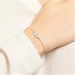 925 Silber Armband Auge Zirkonia
