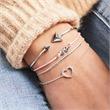 Armreif 925er Silber geometrisches Design