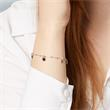 Plättchen Armband aus Sterlingsilber