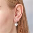 Ohrhänger 925 Sterlingsilber Süßwasserperle