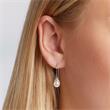 Elegante Ohrhänger aus 925er Silber mit Perle
