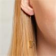 Ohrhänger aus vergoldetem 925er Silber