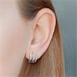 Ohrringe für Damen aus Sterlingsilber