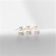 925er Silber Ohrstecker für Damen mit Süßwasserperlen