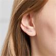 Ear Climber Herzen aus Sterlingsilber