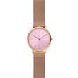 Ladies' Watch Signature In Stainless Steel, Rosé