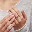 Schmaler Ring Unendlichkeitszeichen 925er Silber