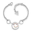 Eternal Circles Armband für Damen aus Edelstahl, rosé