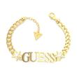 Bracelet For Ladies In Gold-Plated Stainless Steel With Stars