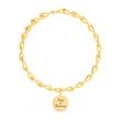 Armband für Damen aus vergoldetem Edelstahl