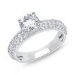 Prächtiger Verlobungsring 925er Silber Zirkonia