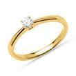 Verlobungsring Diamant 0,15 ct 585er Gelbgold