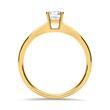 Diamant 0,50 ct Verlobungsring 585er Gelbgold