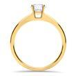 Ring aus 18K Gold mit Diamant 0,50 ct.