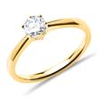 750er Gold Verlobungsring mit Diamant 0,50 ct.