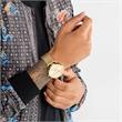 Uhr Rebel Spirit für Herren aus vergoldetem Edelstahl