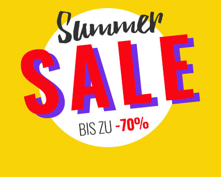 Summer Sale - jetzt shoppen!