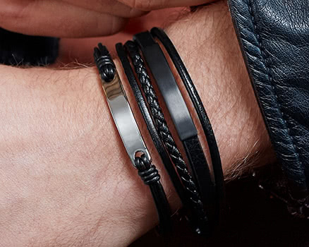 Engravable Bracelets for men