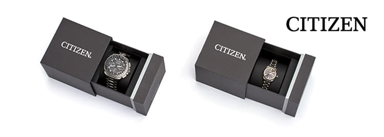 Citizen Uhren Etui